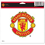 Wincraft Soccer Manchester United 60833011 Multi-Use Colored Decal, 5-Inchx6-Inch