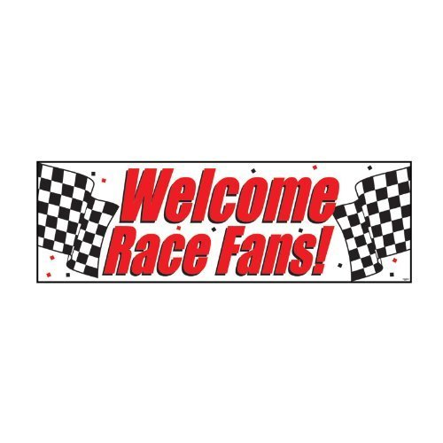 Creative Converting 291724 Welcome Race Fans]()