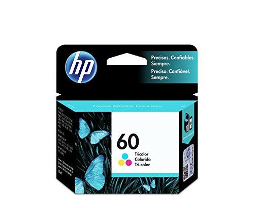 HP Cartucho Original de Tinta Tricolor 60 (CC643WL)