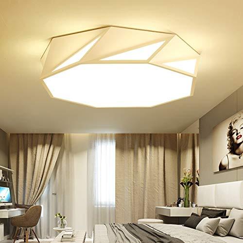 Personalidad moderna lámpara LED sala de estar lámpara de techo ...