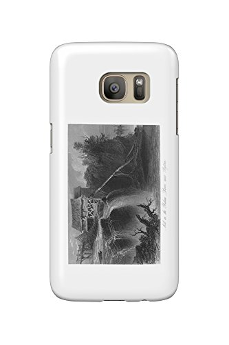 Ottawa, Ontario - View of a Mill on the Rideau River (Galaxy S7 Cell Phone Case, Slim Barely - Mill Ontario