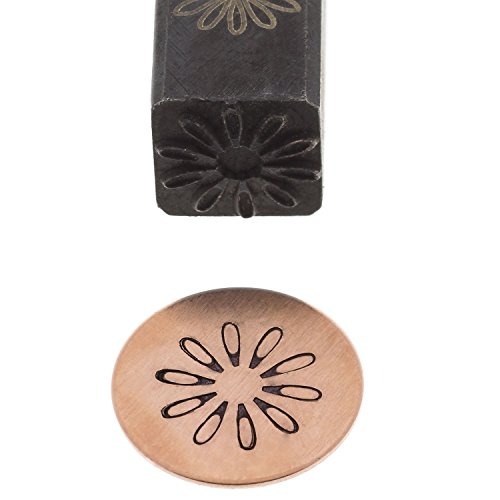 Elite Jumbo Design Stamp, 10 Millimeters, Daisy | PUN-225.28 -