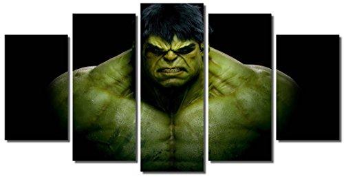- Picture Sensations® Framed Canvas Art Print, Incredible Hulk Marvel Comics Wall Canvas Art - 60