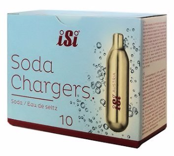 iSi CO2 Soda Siphon Chargers, Set of 100 by iSi North America