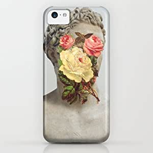 Society6 - Bust With Flowers iPhone & iPod Case by Chad Wys