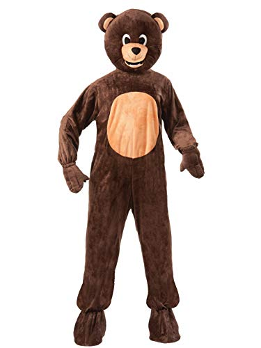Forum Novelties Bear Mascot Teen Costume, Brown]()