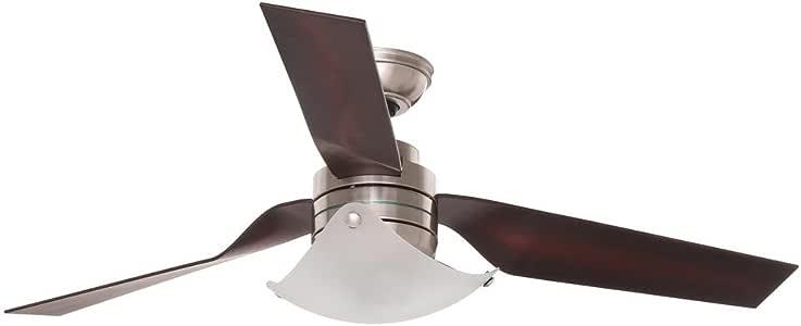 Hunter windspan 52 en. Interior cepillado níquel ventilador de techo: Amazon.es: Bricolaje y herramientas