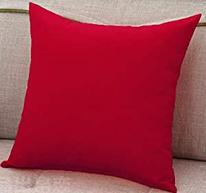 Solid plain Cotton Cushion Cover (210 TC)