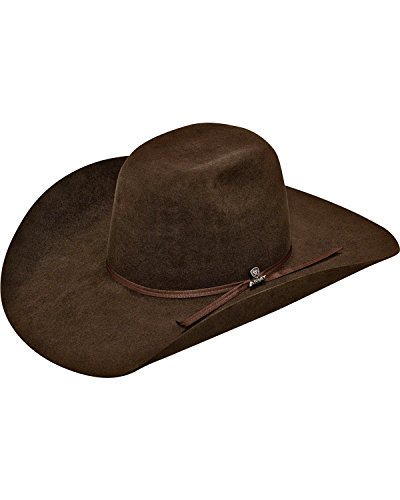 elt Cowboy Hat Chocolate 6 7/8 (Rabbit Felt Hat)