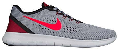 Nike Free Rn Scarpe da Ginnastica Grau (Cool Grey/Actn Rd-Black-Tm Rd)