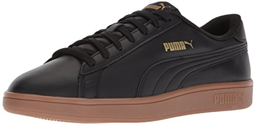 PUMA Men's Smash v2 Leather Plus Sneaker Puma Black-puma Black cheap get authentic cheap buy authentic free shipping very cheap outlet ebay uTgnfoux