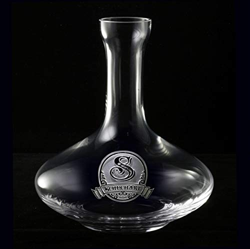 (Holiday Gifts, Personalized Wine Breathing Decanter m8)
