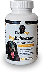 Sweepstakes: VitaminPup Dog Daily Multivitamin and Mineral Supplement…