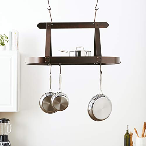 Free up space by hanging pots with these Dutch steel hooks.