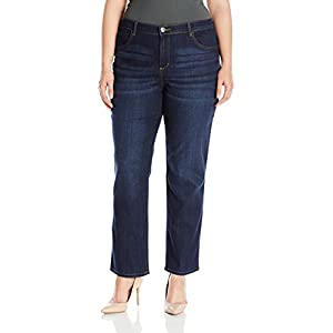 LEE Women's Plus Size Relaxed Fit Straight Leg Jean 23