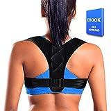 Posture Corrector for Women Men - Effective Comfortable Adjustable Posture Corrector - FDA Approved Posture Support - Back Brace - Kyphosis Brace (Regular)
