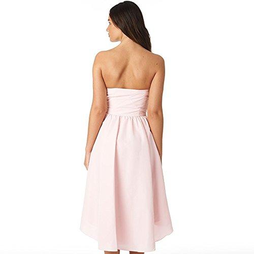 8347264fbb517d Ted Baker Womens Verity Dropped Hem Dress Light Pink (UK 16 Euro 42 USA 20)   Amazon.co.uk  Clothing