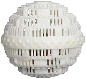 Hasëndad Power Clean Ball Ecobola de Lavado, Cerámica, Blanco, 11x11x10 cm