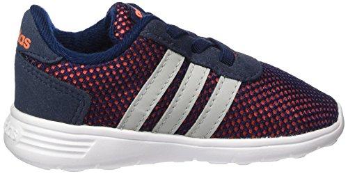 adidas Lite Racer Inf, Unisex - Kinder Sneakers Mehrfarbig (Blau (Maruni / Onicla / Narsol))