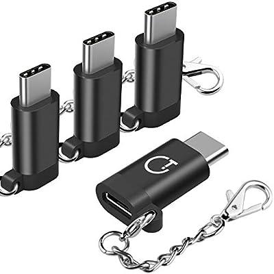 Adaptador USB C, Gritin 4 pack Adaptador USB Type C a Micro USB ...