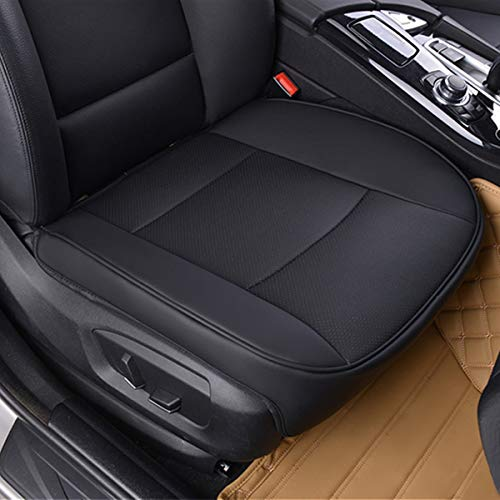 Yesjoy PU Leather car seat Covers car Deluxe Seat Protector Cushion Protector Seat Cover Air Permeable 20.8inchX21.2inch