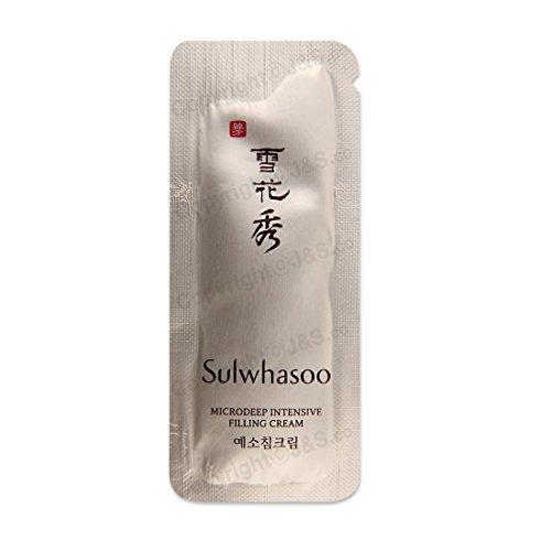 50pcs X Sulwhasoo NEW Microdeep Intensive Filling Cream 1ml