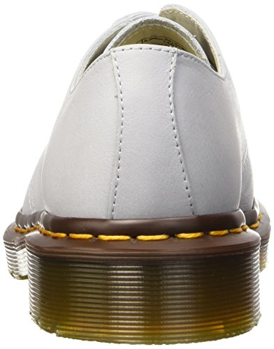 Bianco Mujer Ivory Zapatos 1461 Blue Dr Virginia Derby Martens Moon UCwq7