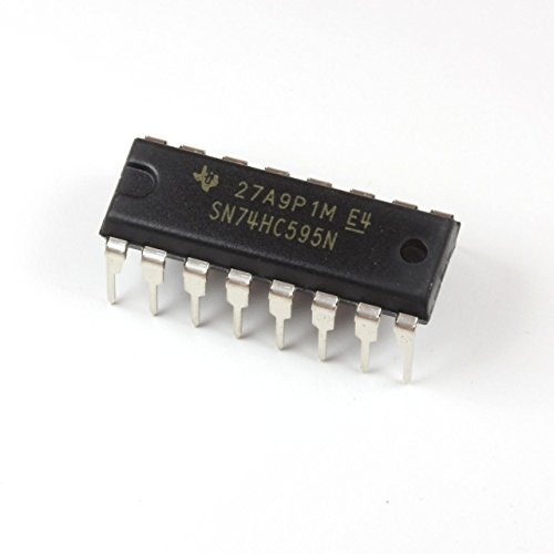 Texas Instruments SN74HC595N 8-Bit Shift Registers With 3-State Output Registers (Pack of (Serial Shift Register)