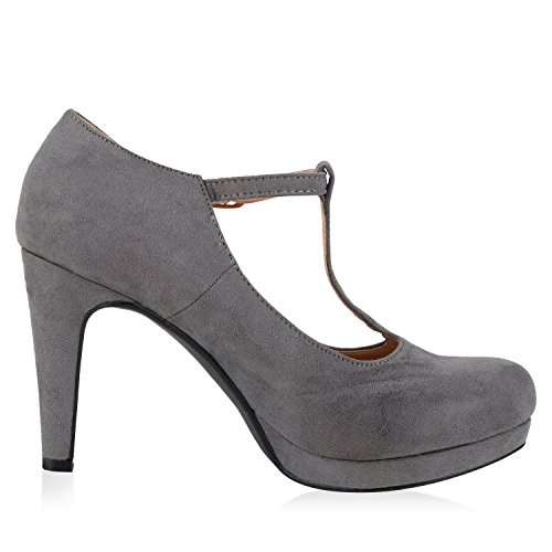 napoli-fashion - Cerrado Mujer Grau Velours