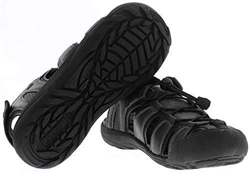 Khombu Sandal Men's Travis Active Sandal (10, Black) reviews