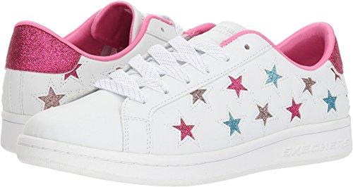 - Skechers Omne Little Star Womens Sneakers White/Silver 8.5