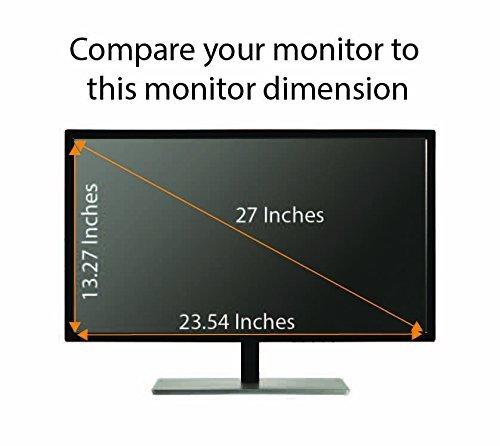 Privacy Screen 27 Inches Widescreen Monitor, Light Anti Glare, Aspect