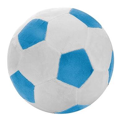 Tplay Soccer Ball Pillow Stuffed Fluffy Plush Baby Soccer Ball Soft Durable Soccer Sports Toy Gift For Kids