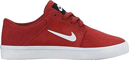 Nike Jungen Sb Portmore (Gs) Skaterschuhe Rojo (Rojo (dark cayenne/white-black))