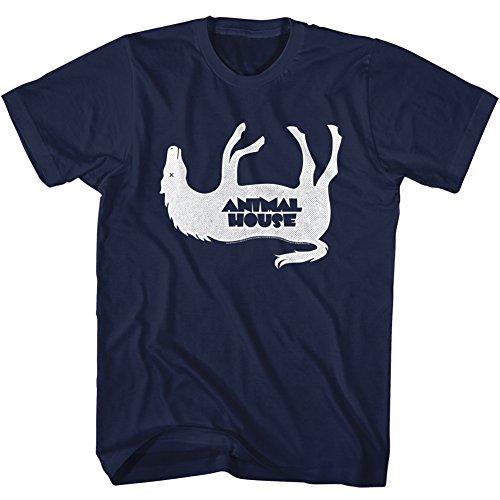para Frat Film John Horsey Azul Camiseta hombre 1970 2bhip Belushi marino University f8xBBq