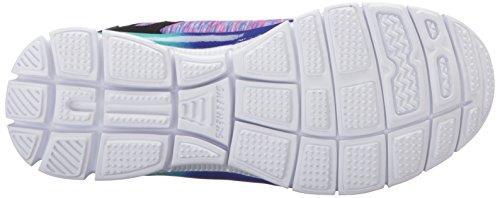 Skechers Kids Girls' Skech Appeal-Daring Dream Sneaker, Black/Multi, 12 M US Little Kid