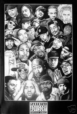 Rap Gods Gangster Look 2 Pac New Hip Hop Poster 1 Amazon De Küche Haushalt