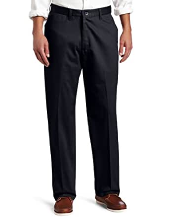 Lee men 39 s no iron relaxed fit flat front pant at amazon men s clothing store - How to unwrinkle your clothes with no iron ...