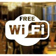 ArtStickers Free WIFI Window Sign Vinyl Sticker Graphics Cafe Shop Salon Bar Restaurant