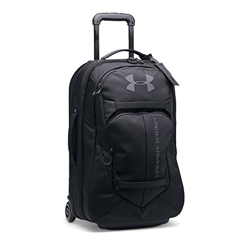 Under Armour Carry-On Rolling Travel Bag, Black/Black, One Size by Under Armour
