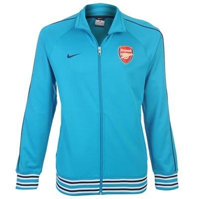 (Nike 2011-12 Arsenal Core Trainer Jacket (Blue))