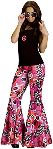 Fun World Women's Power Bell Bottoms Adult Costume,