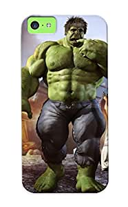Iphone 5c Case Cover Hulk And Little Girl With A Lollipop Case - Eco-friendly Packaging