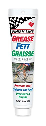 Finish Line Premium Grease made with Teflon Fluoropolymer, 3.5 Ounce by Finish Line
