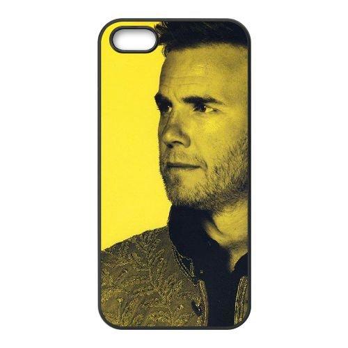 UK21 Gary Barlow E1B4BU coque iPhone 5 5s cellule de cas de téléphone couvercle coque noire SF1TNN7QD