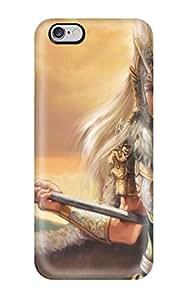 Diseño único iphone 6Plus Durable Tpu funda guerrero
