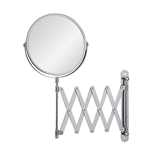 EYX Formula Magnification Mirror for Face Wash, Wall Mounted Mirror (Wall Accordian Mirror)