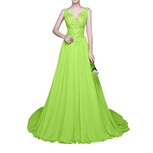 Abendkleider Festlichkleider Lemon Lang Braut Jugendweihe Glamour Kleider La Gruen Marie Spitze w7Iqx6g