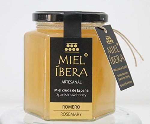 Miel de Romero cruda de España - Artesanales - sin mezclar y sin pasteurizar - Alta calidad - Varias variedades - Gourmet (Romero): Amazon.es: Alimentación y bebidas