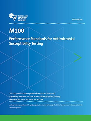 M100 Performance Standards for Antimicrobial Susceptibility Testing